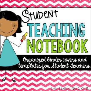 Student Teaching Notebook for Student Teachers. Includes Lesson Plan Google Drive. Binder Covers and More! #tpt #studentteaching