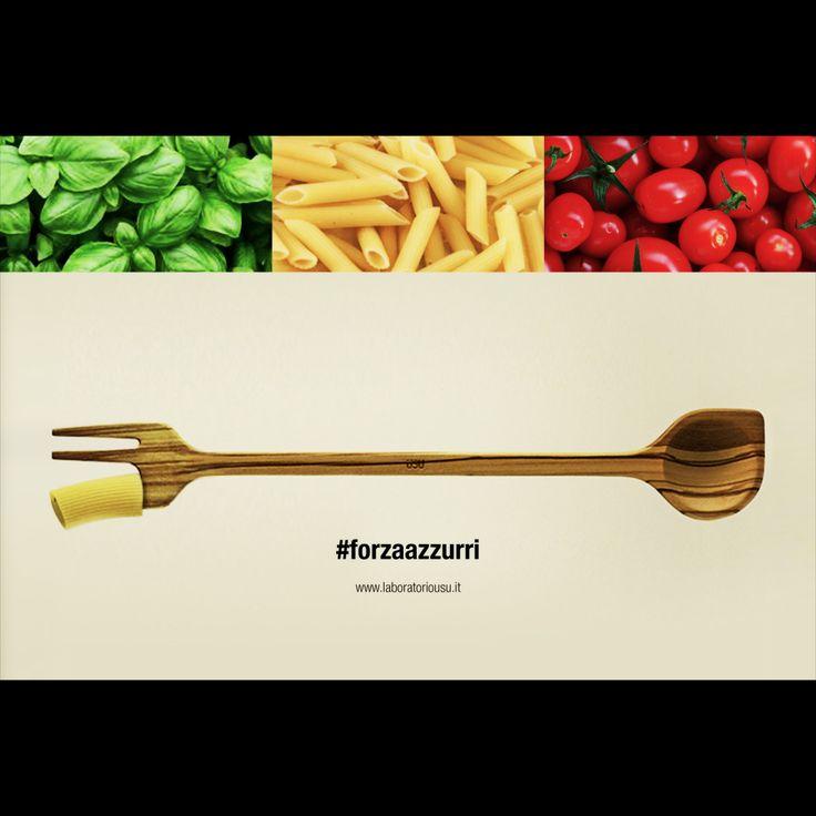 #majorette #handmade #italiandesign #forzaazzurri #excellence #kitchenware #homestyle | www.laboratoriousu.it