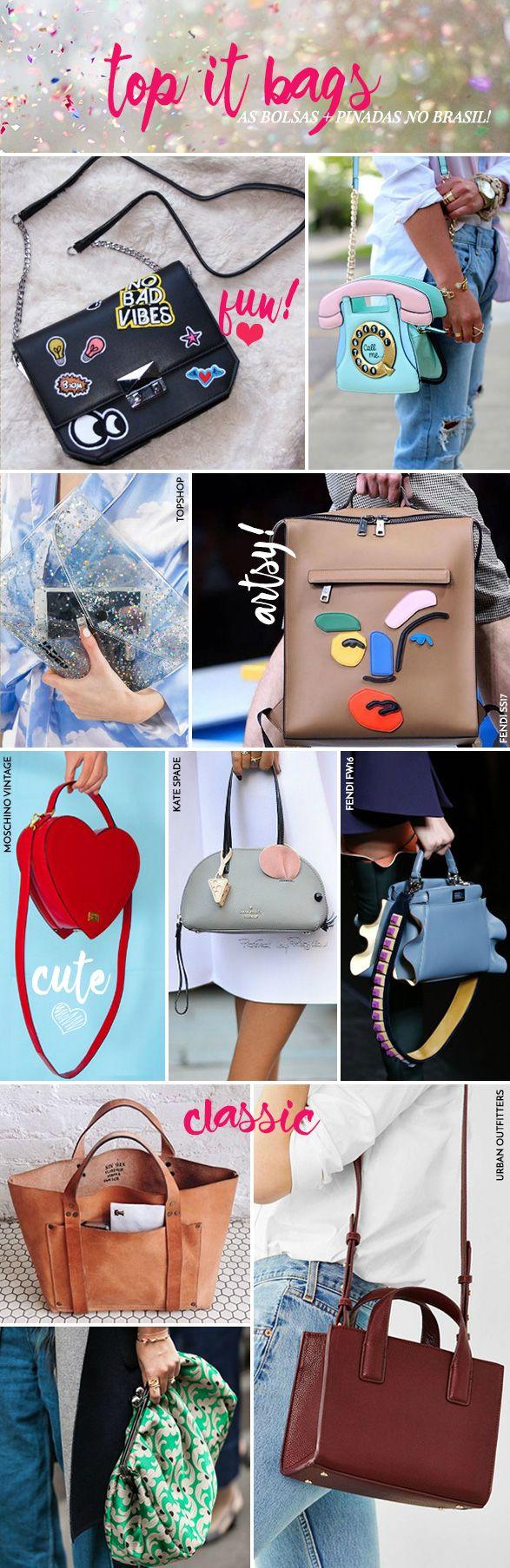 Top it bags: as bolsas mais pinadas no Brasil! - Garotas Estúpidas - Garotas Estúpidas