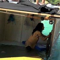 Vanessa Giácomo mostra como foi gravada cena de naufrágio em 'A Regra do Jogo