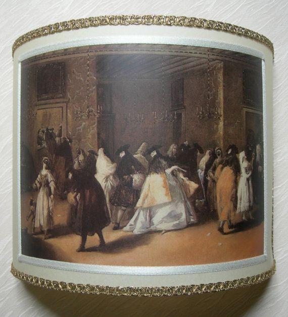 Wall Light Half Lampshade Francesco Guardi Il by OggettiVeneziani, $119.00