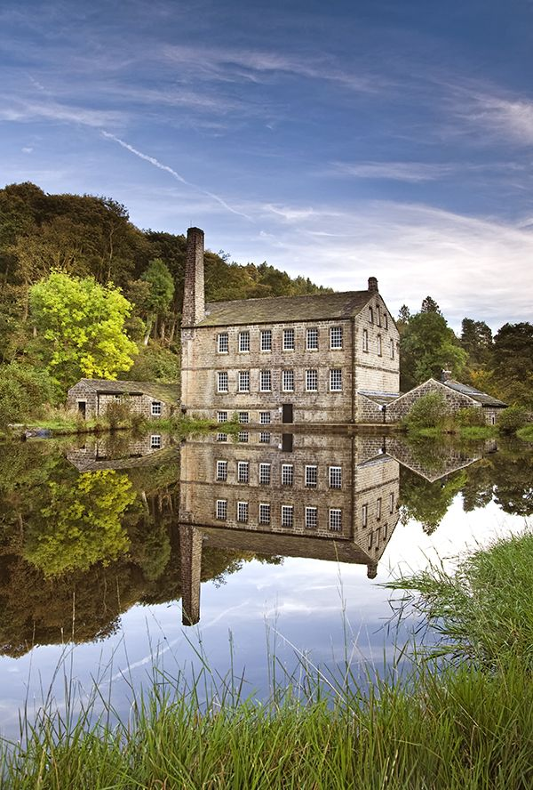 Gibson Mill at Hardcastle Craggs, Hebden Bridge