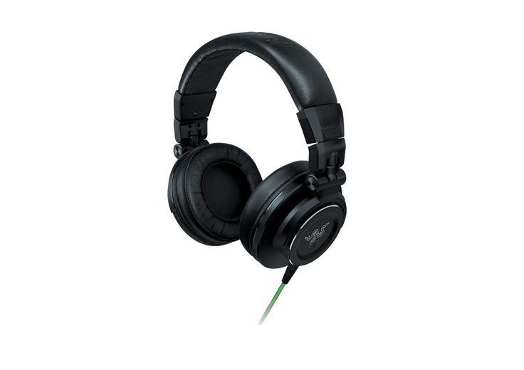 [CATALOGUE MOBILITE MAI 2014] Razer Adaro DJ: Conçu pour les DJ et les passionnés de musique. Réalisé avec des matériaux durables et de haute performance, ce casque incarne l'image d'un son clair et puissant dans un emballage moderne et fonctionnel. Ref: RZ13-01120100-R3M1 http://www.exertisbanquemagnetique.fr/info-marque/razer/834 #Raze #Audio #Casque # Ecouteurs