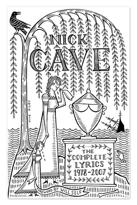 New Nick Cave cover, illustrated by the brilliant Duke Riley of East River Tattoo, Booklyn.    #NickCave #DukeRiley