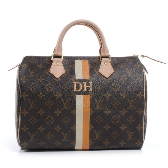 Fashionphile - LOUIS VUITTON Mon Monogram Speedy 30 NEW - a classic, timeless speedy. Perfect for anyone with the initials DH or anyone with a Darling Husband! ;)