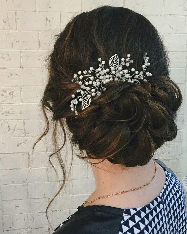 Prom/bridal hairstyle