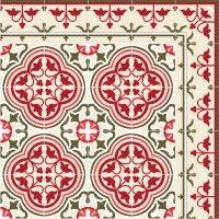 Tapis Vinyle - Portugal Red - Beija Flor
