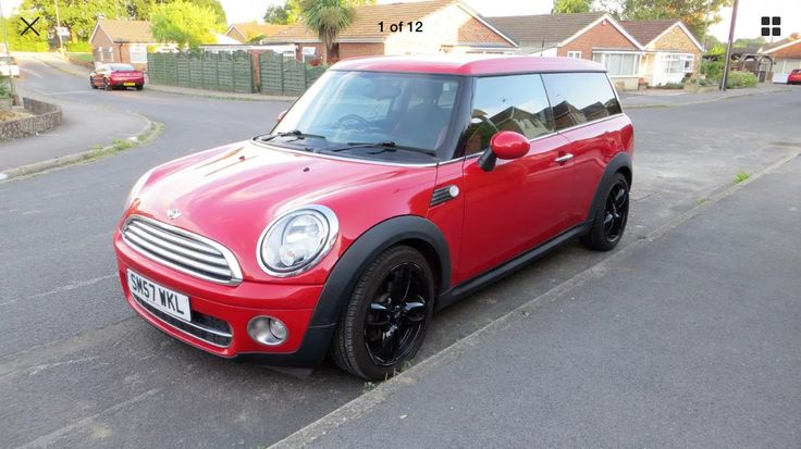 eBay: MINI COOPER CLUBMAN RED 2007/57 LOVELY CAR. START STOP #minicooper #mini