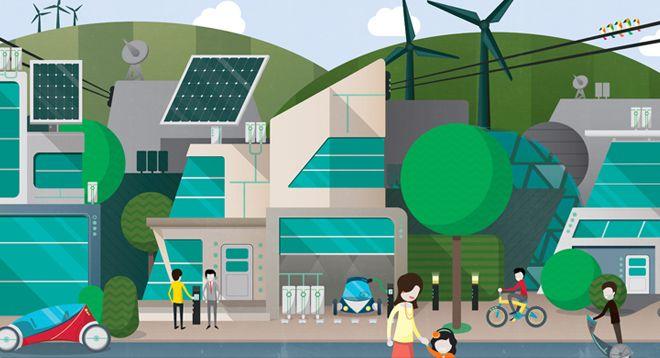 Crush   Siemens - Future Cities Illustration