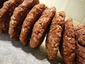 CSONT-ERŐ kókuszos zabpehely keksz recept