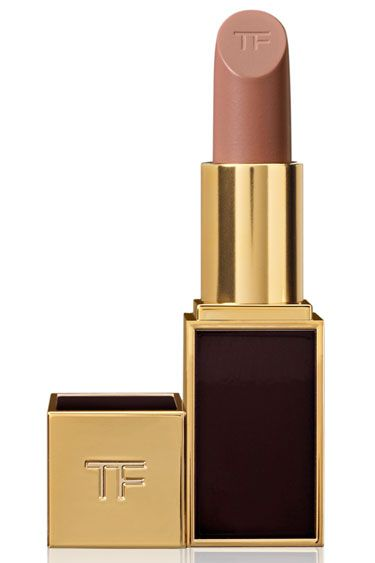 "THE 12 BEST NUDE LIPSTICKS: Tom Ford Lip Color in Sable Smoke - ""This shade has the perfect amount and tone of beige for a nude lip that won't wash you out. I like to apply the color with a brush then tap with my index finger to blend into the skin so that it doesn't have a heavy 'lipstick' quality."" — Stevie Huynh"