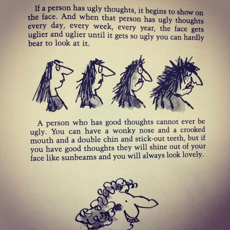 """My favorite page from """"The Twits"""" by Roald Dahl. #quotes"""