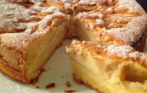 Ricetta per riciclare il pandoro avanzato e i panettoni: una squisita torta di mele! Riciclare il panettone avanzato. Come evitare sprechi