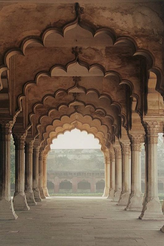 The Arches Agra, India Experience the many views India has to offer.