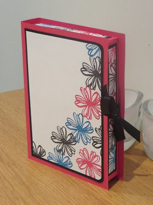 One Sheet Wonder Card Gift Box Tutorial using Flower Shop stamp set by Stampin' Up. Video