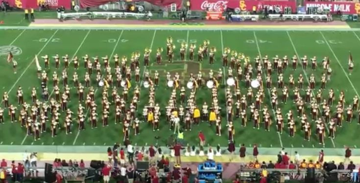The halftime show (almost) live from Southern California
