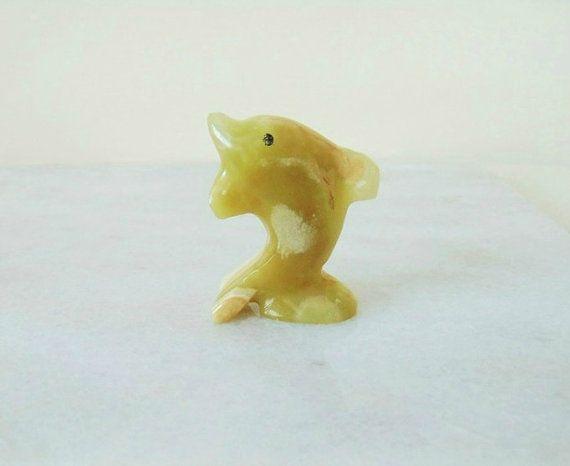 Onyx dolphin figurine sculpture dolphin figurine home decor