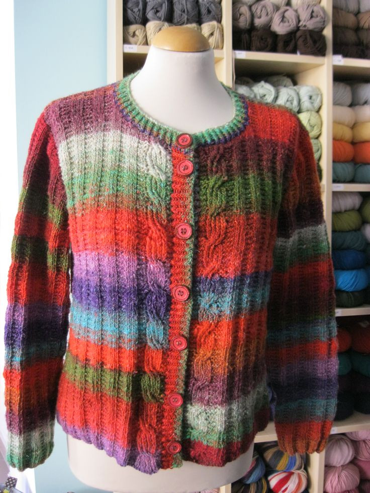 #Dotquilts #Knittingclasses #cardigan #Noro #norosilkgarden4ply