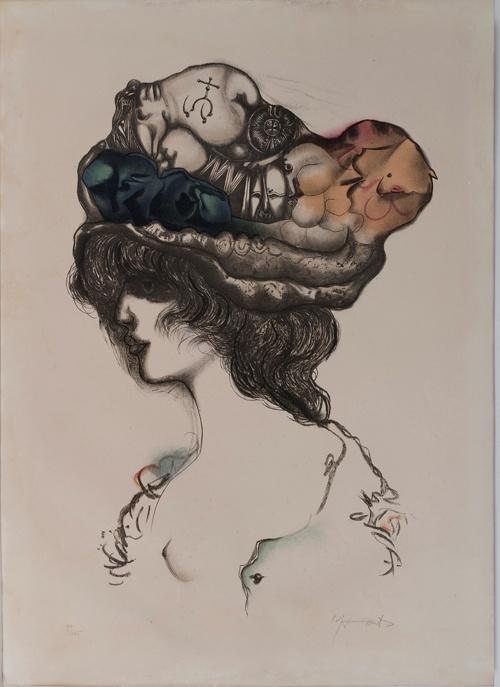 Modest Cuixart (catalan 1925 - 2007) litografia 75.5 x 54.5 cm #art #cuixart #dolorsjunyent