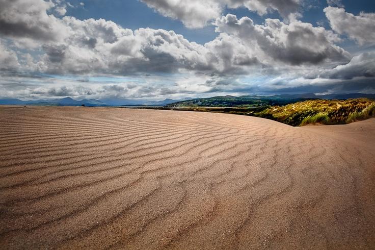 Shell Island Sand Dunes near Harlech, Wales