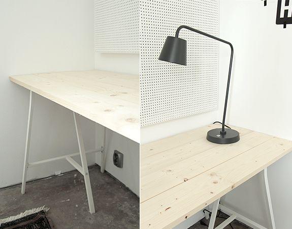 DIY: Arbetsbord och avlastningsyta