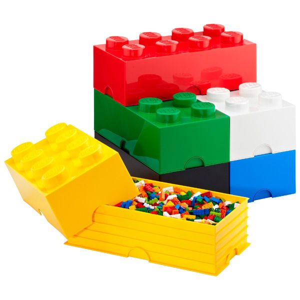 LEGO Storage Bins. Apparently, as an adult, I'm not allowed these. Boooo to that rule, I say.