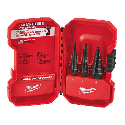 Drill Bits 50382: Milwaukee 48-89-9221 Step Drill Bit Set (3 Pc) -> BUY IT NOW ONLY: $54.85 on eBay!
