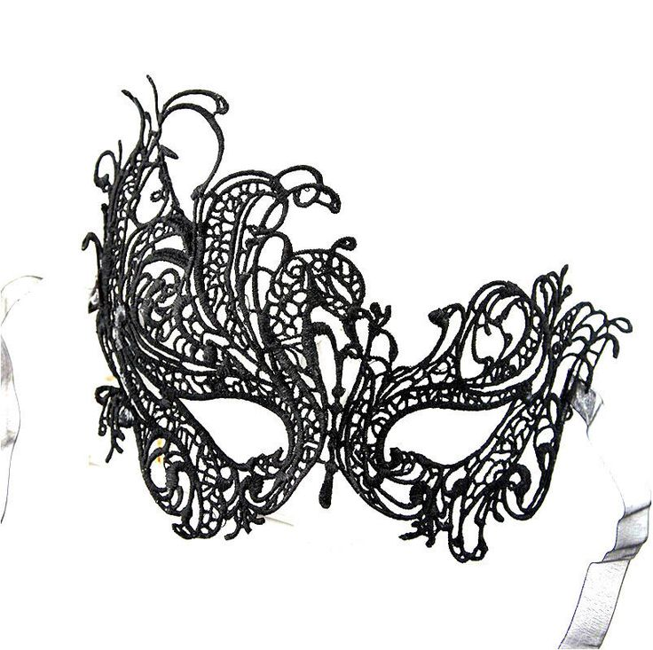 Popular Sexy Mask Fashion Black Lace Party Ball Masquerade Mask Dress Mask Black