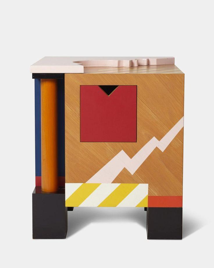 Sculpturel side table by Ernst Lohse