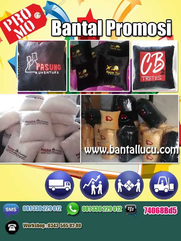 Bantal Promosi , Bantal souvenir #PillowSouvenir