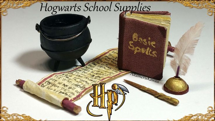 Hi guys! Today we're making some Back to School supplies, Hogwarts style ;) Many of you requested more Harry Potter inspired videos, so I thought this was a ...