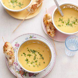 Linsen-Süsskartoffel-Sesam-Suppe. Hier gehts zum Rezept:  http://www.brandnooz.de/products/muellers-muehle-beluga-linsen