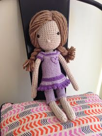 I just thought I would pop a few photo's of some of my crochet projects from the past few months. I made lots of Giraffes for lots of new b...