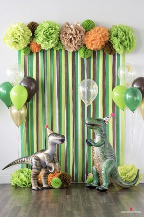 Dinosaur Birthday Party Decorations