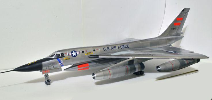 B 58 hustler diecast model