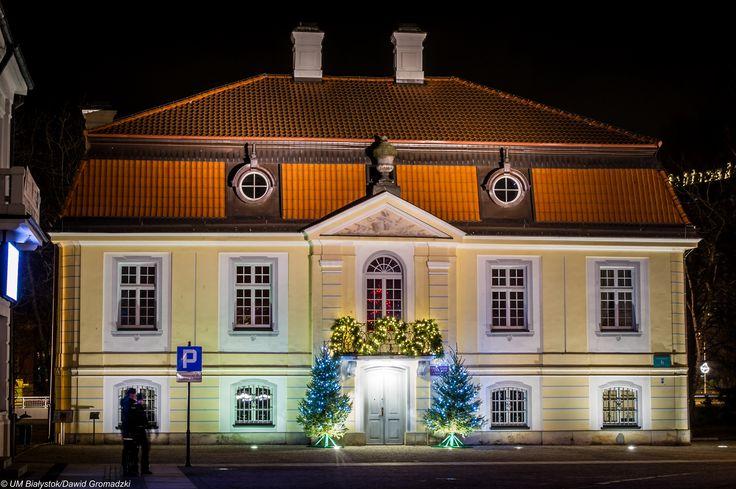 Pałacyk Gościnny w świątecznej odsłonie :) #Kilińskiego #Bialystok fot. Dawid Gromadzki