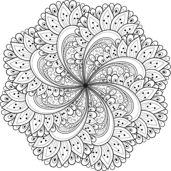 Bonitas Mandalas Para Colorear Descargar E Imprimir With Images