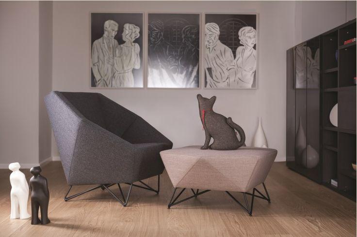 Sofa 3angle marki Prostoria - PLN Design