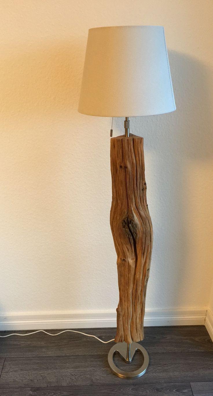 Treibholz Lampe Holz Unikat Stehlampe Diy Lighting Lamp Table Lamp