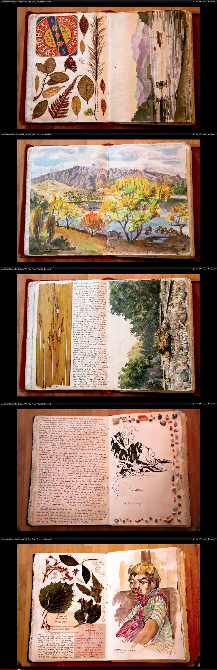 Jonathan Harris sketchbook