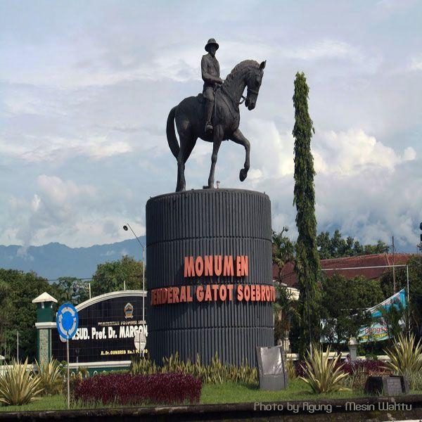 Monumen Jenderal Gatot Soebroto, Monumen Sejarah Purwokerto