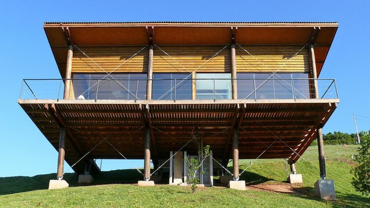 Eucalyptus House, A small wooden house in the mountains of southeastern Brazil with 1 bedroom in 538 sq ft