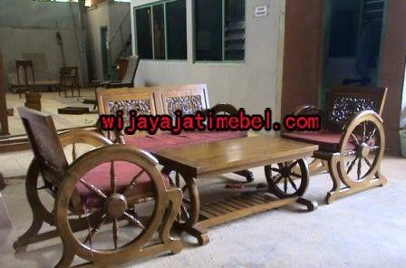 Kursi Tamu Minimalis Model Roda | Kursi Tamu Terbaru | Harga | Wijaya Jati Mebel