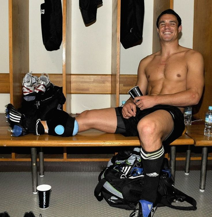 Dan Carter. New Zealand All Blacks Fly Half ... I think I need to start watching Rugby.