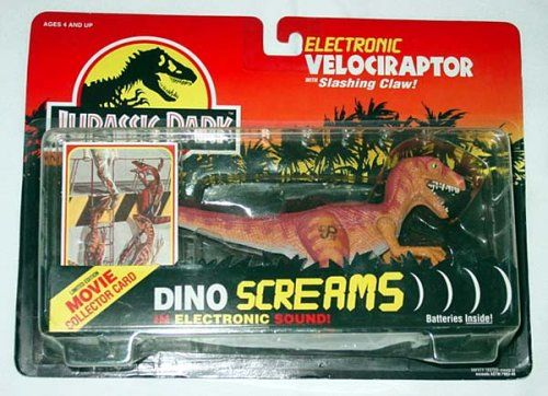 jurassic park electronic velociraptor the noiyn dinosaur
