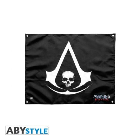 ASSASSIN'S CREED Drapeau Assassin's Creed Skull (50x60)