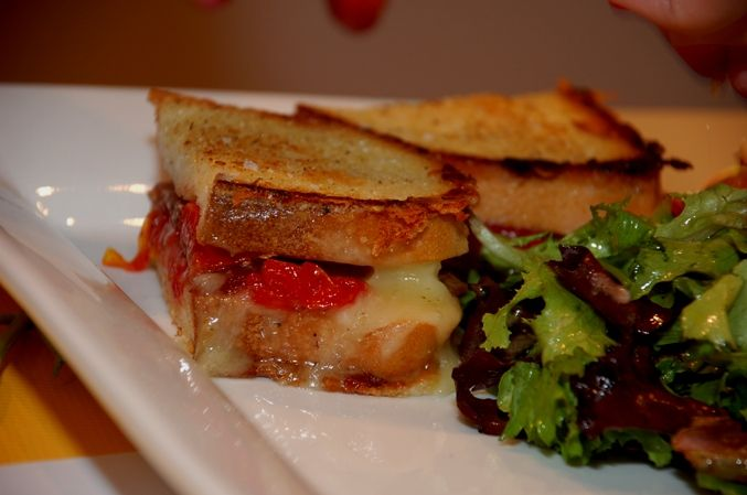 The grilled cheese has a long and storied existence, and it now  has a heightened presence in Waterloo Region with the appearance of Cheeses Murphy in downtown Kitchener's Duke Food Block, Big Daddy Cheese in Market Square in Kitchener, and Joe Fromaggio in Westmount Place, Waterloo. #local #waterloo #cheese #tasty