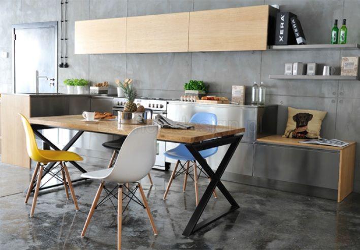 Stół Natural. Stoły drewniane na zamówienie http://esencjadesign.pl/stoly/408-esencja-design-stol-kuchenny.html
