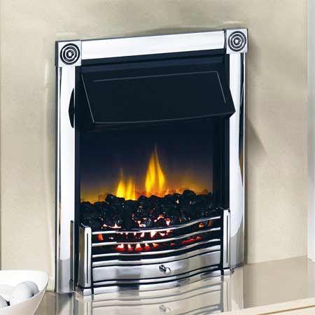 Dimplex HTN20CH Horton Inset Electric Fire 2kw Chrome