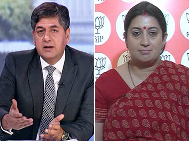 UP Muslims Have Voted On The Issues Of Development: Smriti Irani